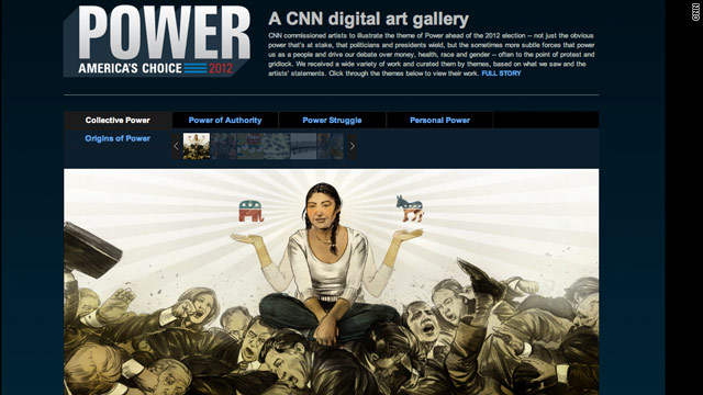 Artists interpret &#039;Power&#039; for 2012 Election