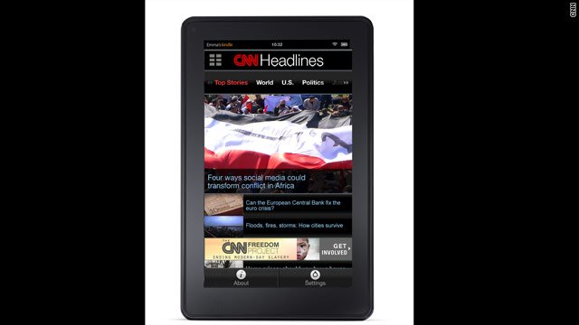 CNN App comes to Kindle Fire