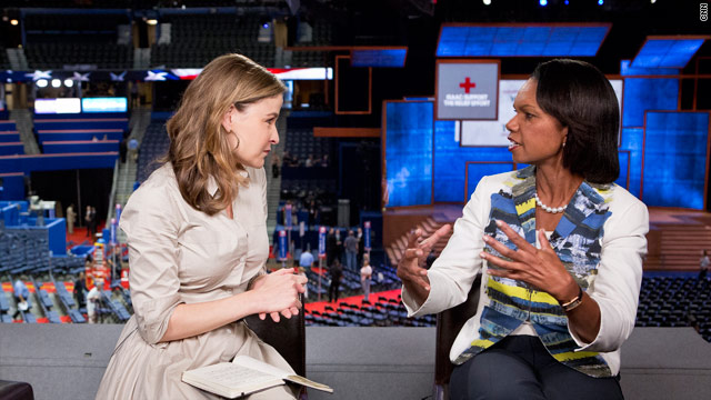 Condoleezza Rice to CNN&#039;s Hala Gorani: U.S. should help arm rebels in Syria