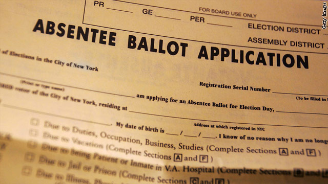 Military absentee voting looks weak this year