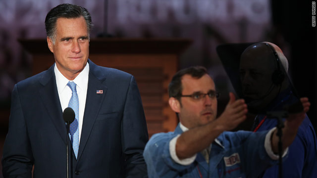 For Romney, the speech of his life