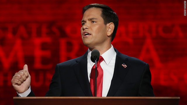 Rubio introduces Romney, vision of GOP future
