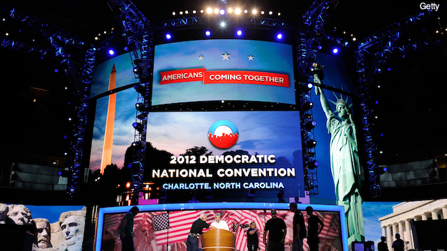 Democratic convention will highlight differing visions between the parties