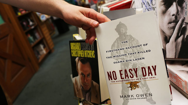 Pentagon: SEAL's book has classified info, didn't follow protocol