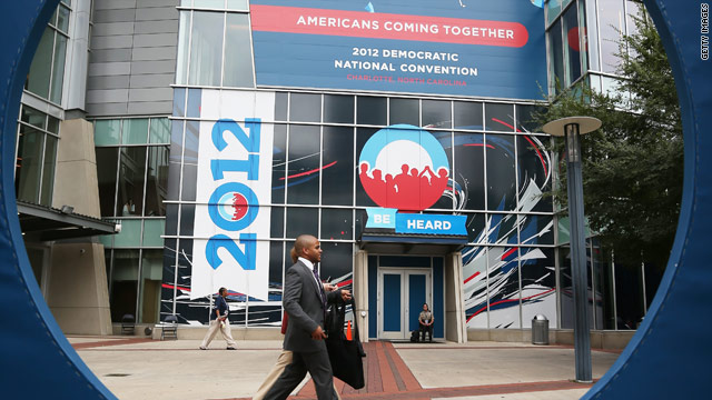 Obama campaign: DNC is on, 'rain or shine'