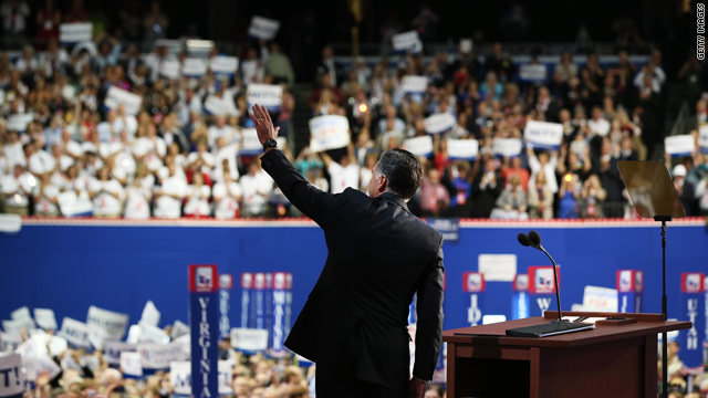 CNN Poll: Did Romney get a convention bounce?