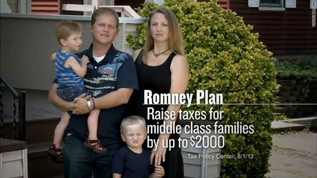 Priorities ad hammers Romney's tax plan