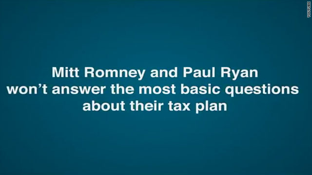 Obama campaign pushes Romney, Ryan on loopholes
