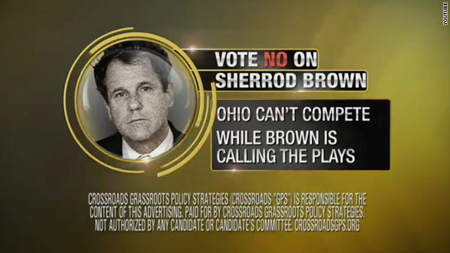 Crossroads releases new round of ads in Senate races