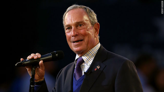Bloomberg talks gun control in commencement address