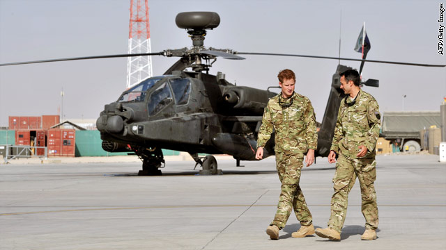 Source: Insurgents got onto Prince Harry's base through hole in fence