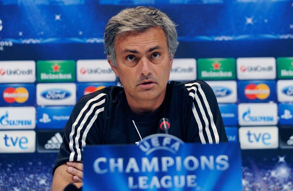 Jose Mourinho took over from Manuel Pellegrini as Real Madrid coach in 2010.