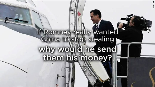 &#039;Hypocrisy&#039; is ripe: New Obama web video, Romney pushback