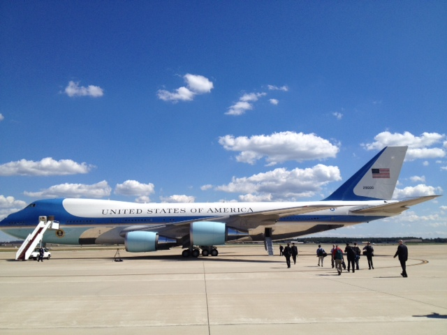 Obama heads to Virginia campaign event