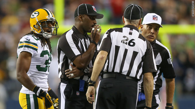 On the campaign trail: No replay needed on NFL refs deal