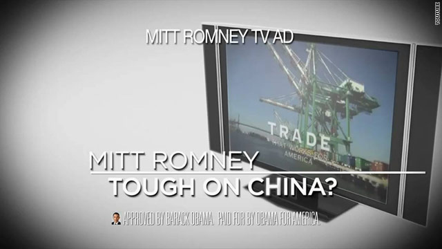 Obama ad hits Romney over outsourcing