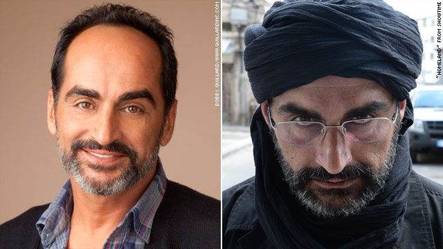 Mistaken for a terrorist: Homeland star only plays one on TV