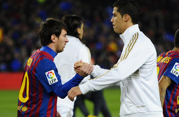 Lionel Messi and Cristiano Ronaldo will take center stage during Sunday's El Clasico.