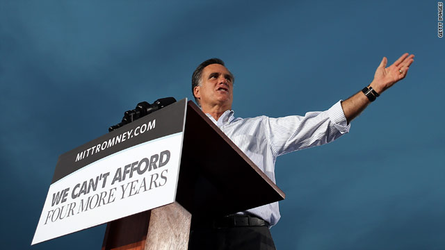Romney&#039;s softer side in Florida