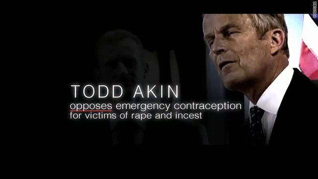 McCaskill ad hits Akin over emergency contraception