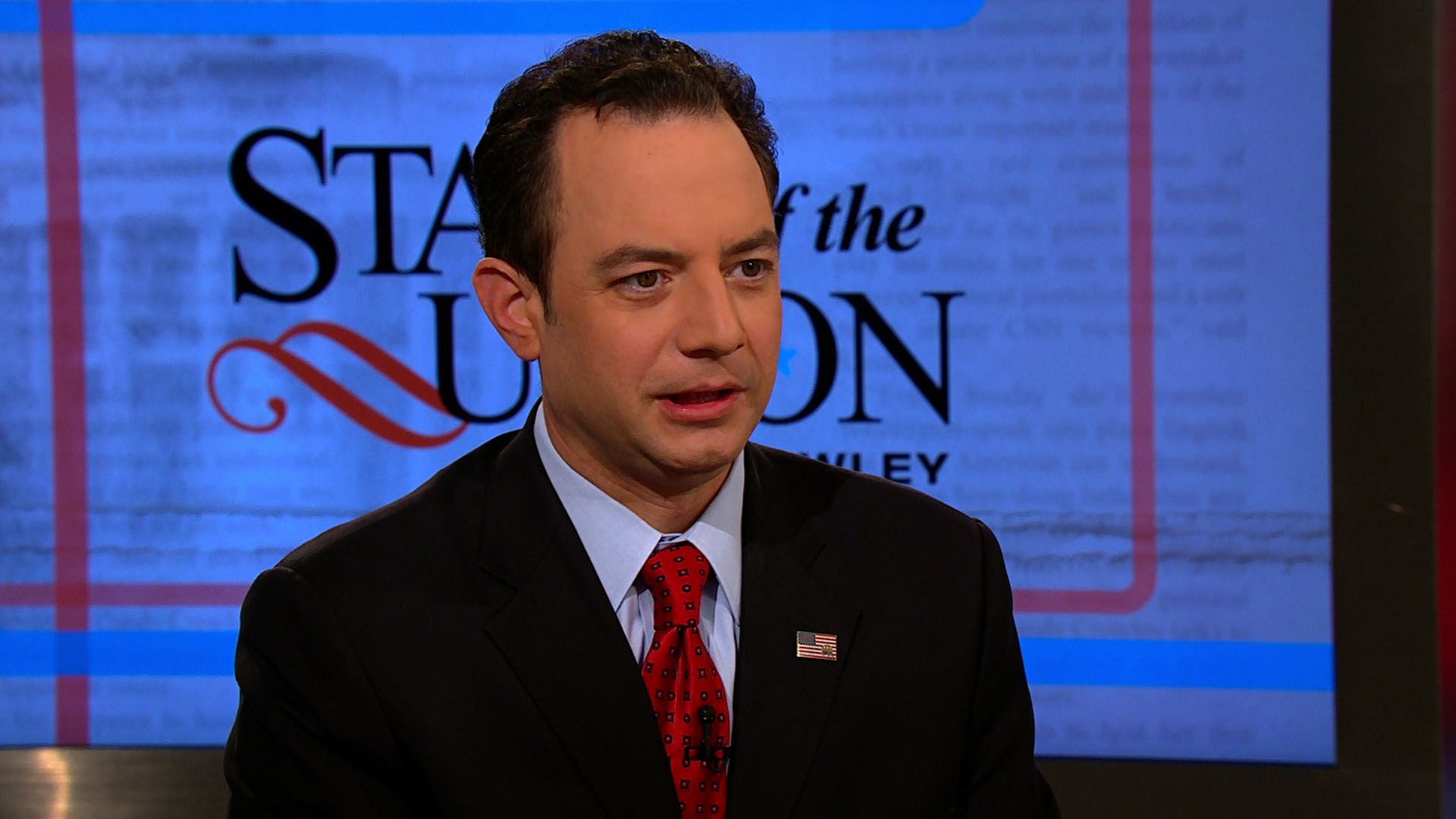 Priebus plays expectations game for VP debate
