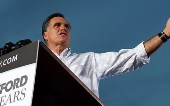 Romney's softer side on display