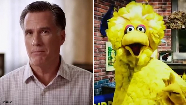 Team Romney word on the street for Big Bird tactics: 'Troubling'