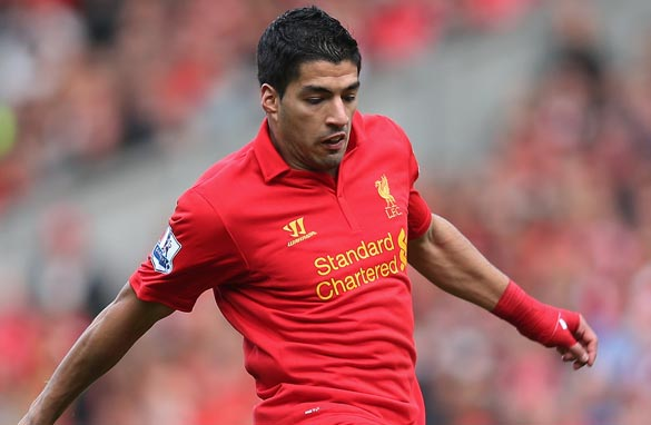 Liverpool's Luis Suarez has been accused of diving by other English Premier League managers.