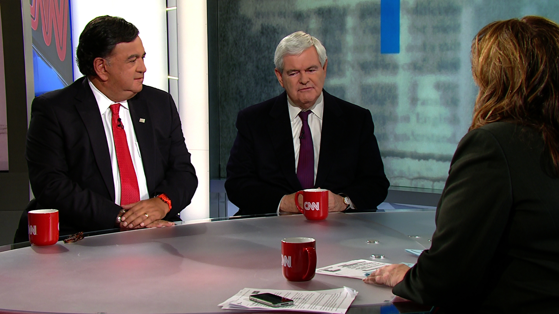 Richardson, Gingrich spar over candidates&#039; foreign policy strengths
