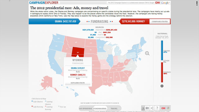 CNN and Google launch Campaign Explorer