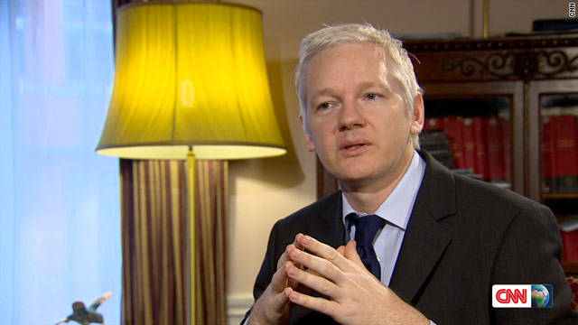 WikiLeaks founder Julian Assange speaks to CNN