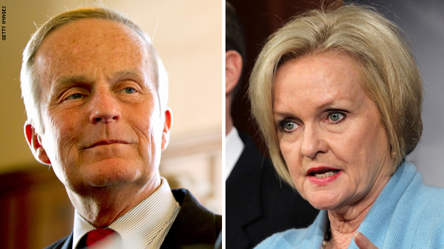 McCaskill ad uses Akin &#039;legitimate rape&#039; comment against him