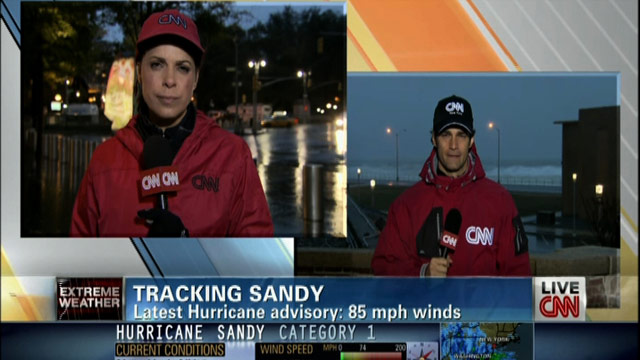 CNN's Comprehensive Coverage: Superstorm Sandy