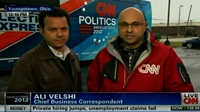 Campaigns & CNN Newsroom target Ohio