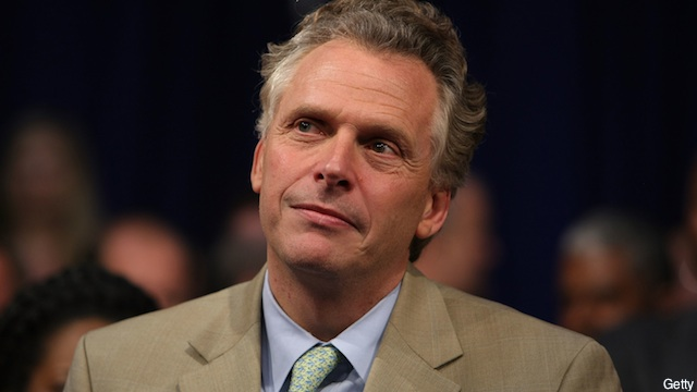 McAuliffe building team for Virginia gubernatorial bid