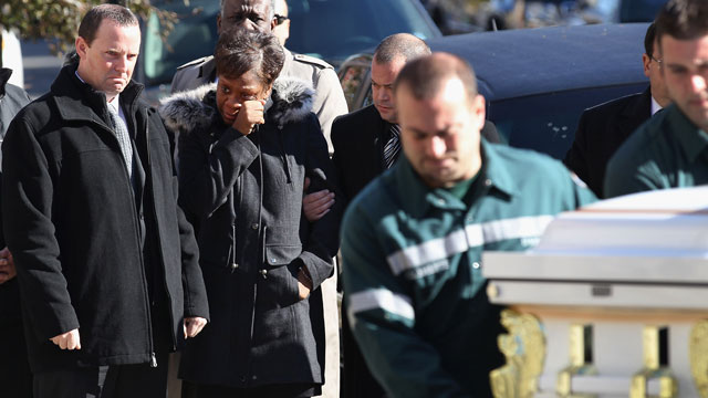 Tonight on AC360: Funeral for Sandy's youngest victims