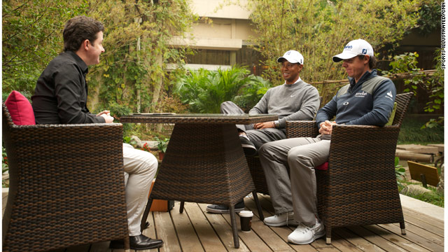 Exclusive: Tiger Woods and Rory McIlroy speak to CNN
