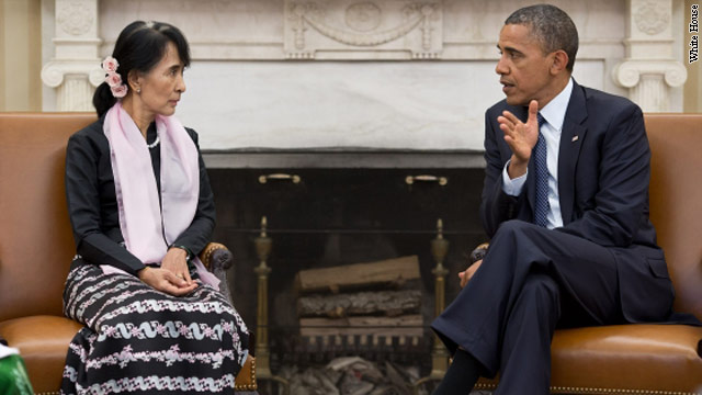 U.S. lifts Myanmar import ban ahead of Obama visit