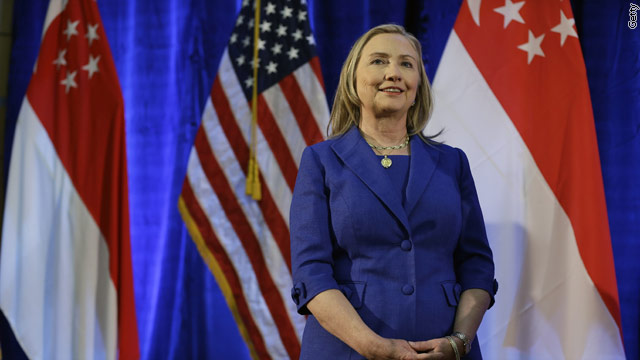 Clinton heads to the Middle East