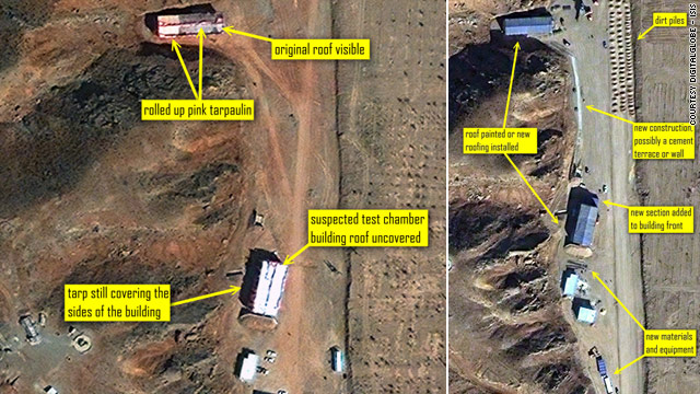 Continued clean-up seen at Iranian military site tied to nuclear program