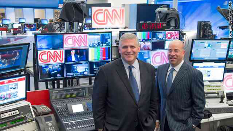 Jeff Zucker Named President of CNN Worldwide