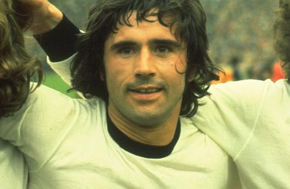 Gerd Muller's record of 85 goals in a calendar year has stood since 1972. (Getty Images)