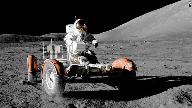 Driving on the Moon