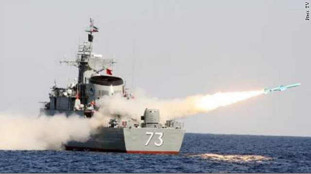 Iran claims success in firing new missiles during naval war exercises