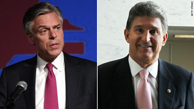 Huntsman, Manchin to take leadership role with No Labels