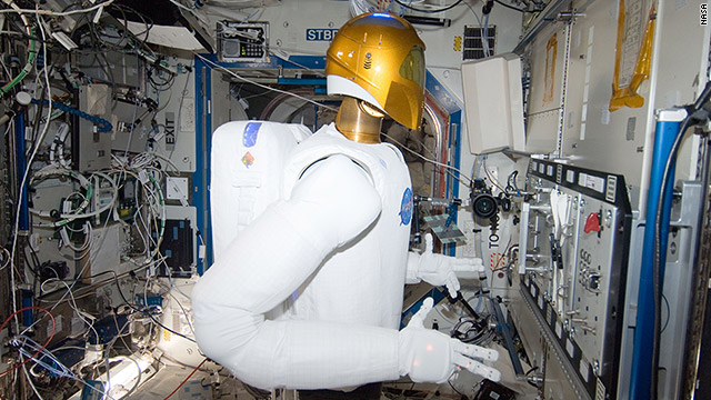 Robonaut Operates Task Board in Space