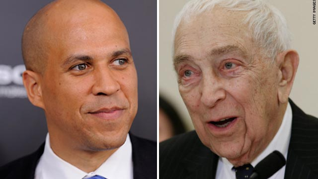 Poll: Booker favored over Lautenberg in possible Jersey showdown