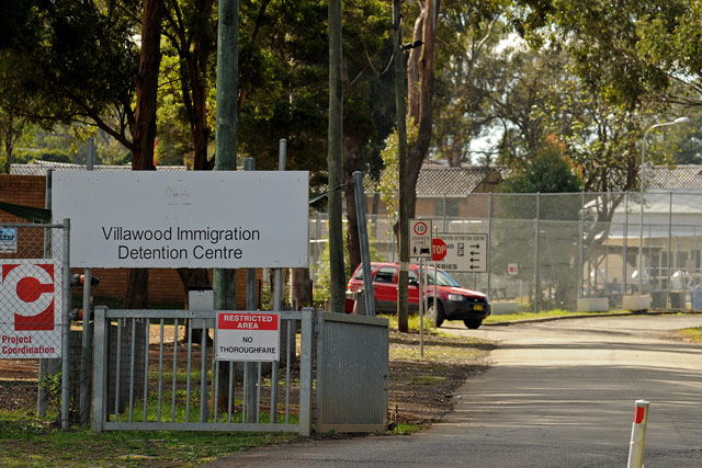 Ranjini and her sons live in a low-security section of Villawood Detention Center in Sydney.
