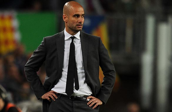 Guardiola oversaw a trophy-laden four years for Barcelona.