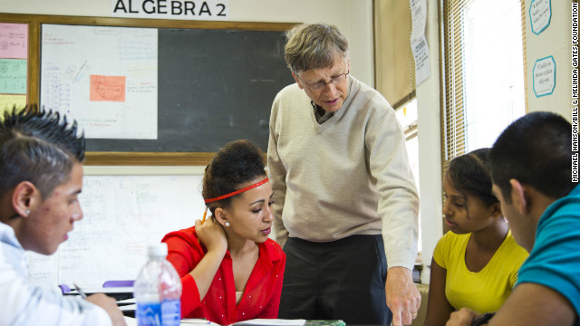 Bill Gates op-ed on CNN.com: Grade teachers, help students